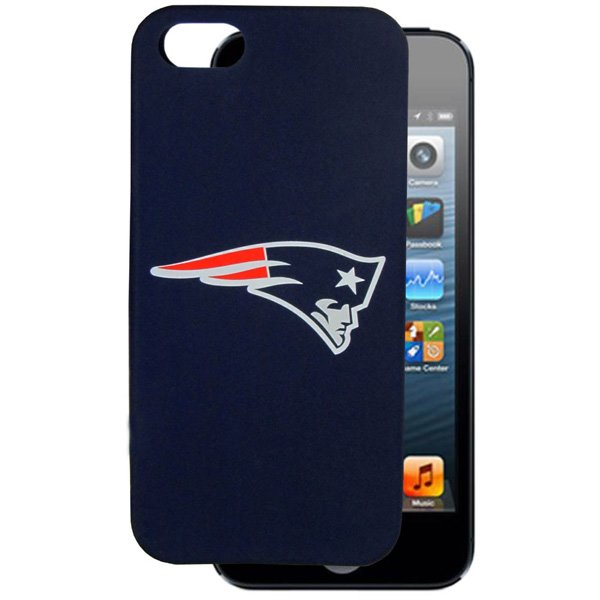 Patriots iPhone 5 Silicone Case-Navy