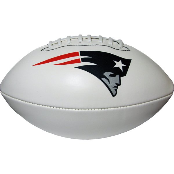 Full Size Team Autograph Football-White