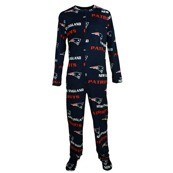 Patriots Facade Union Suit-Navy