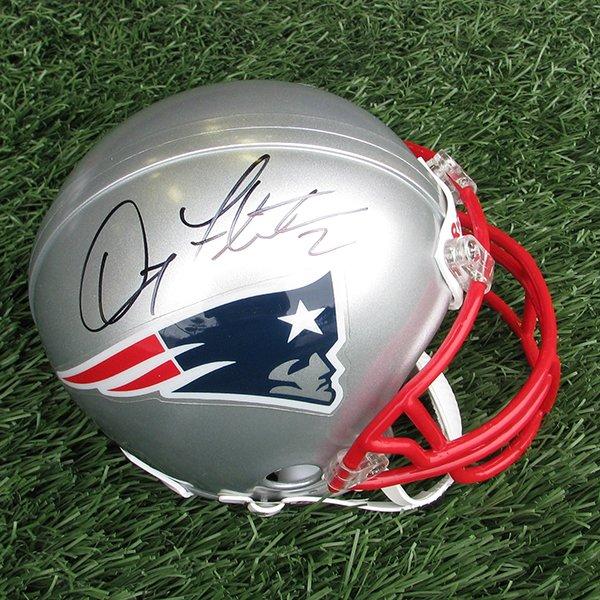 Autographed Doug Flutie Mini Helmet