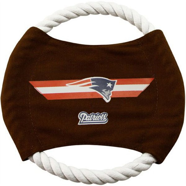 Patriots Rope Frisbee Toy