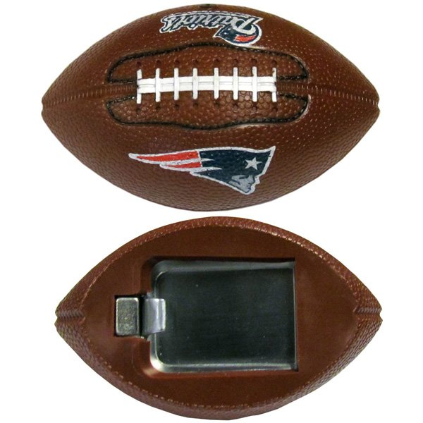Patriots Football Bottle Opener Magnet