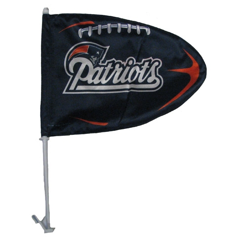 Patriots Football Car Flag