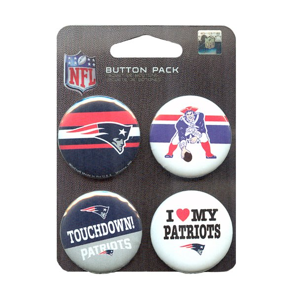 Four Pack Round Buttons