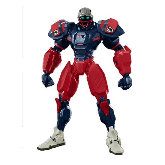 Patriots Fox Sport Robot Cleatus