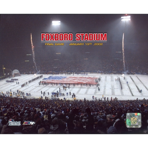 Foxboro Stadium Final Game 8x10 Photo
