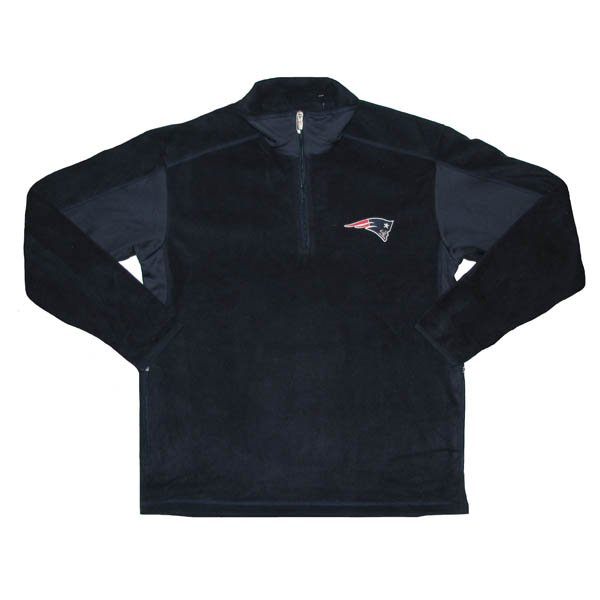 Patriots Frost 1/4 Zip Fleece-Navy