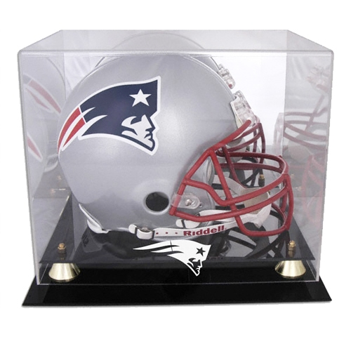Pats Full Size Helmet Display Case