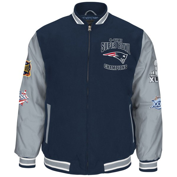 GIII 4 Time Super Bowl Champion Commemorative Jacket