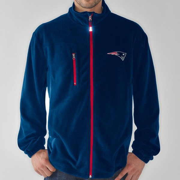 GIII Facemask Fleece Jacket-Navy