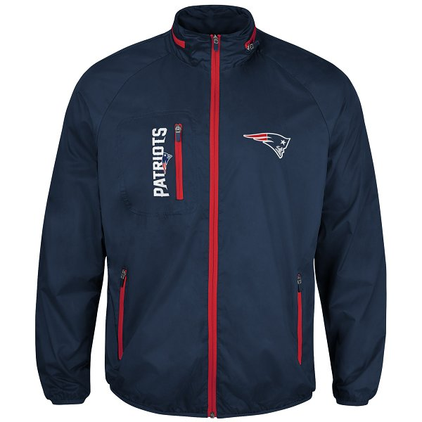 GIII Game Plan Full Zip Jacket-Navy
