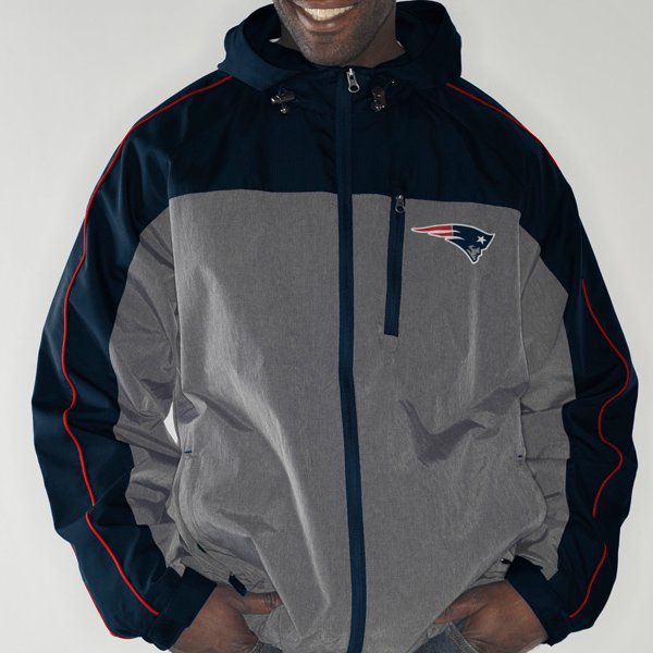 GIII Halftime Full Zip Jacket-Navy/Charcoal
