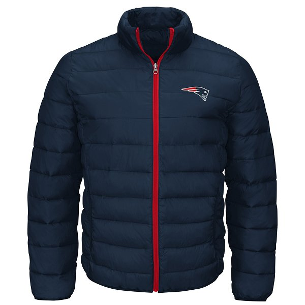 GIII Sky Box Puffer Jacket-Navy