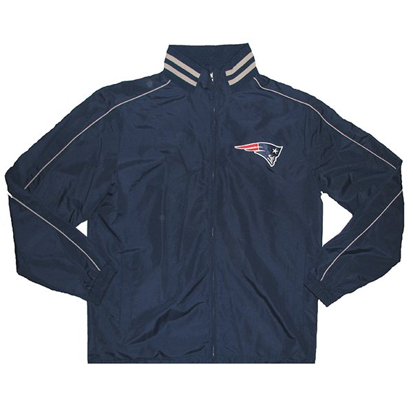 GIII Roster Full Zip Light Weight Jacket-Navy