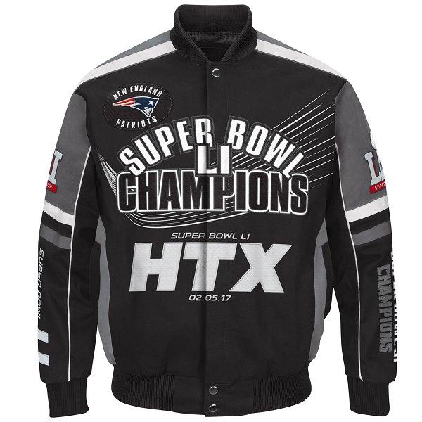 GIII Super Bowl LI Champions JacketBlack