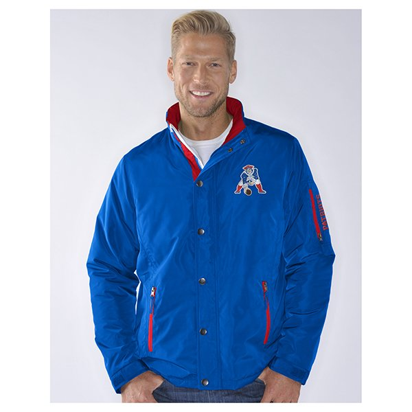 GIII Throwback Sack Midweight Jacket-Royal
