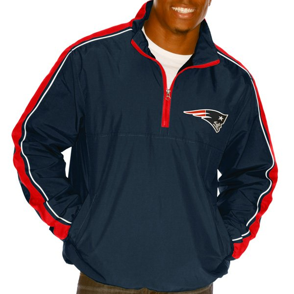 GIII Touchback 1/2 Zip Jacket-Navy