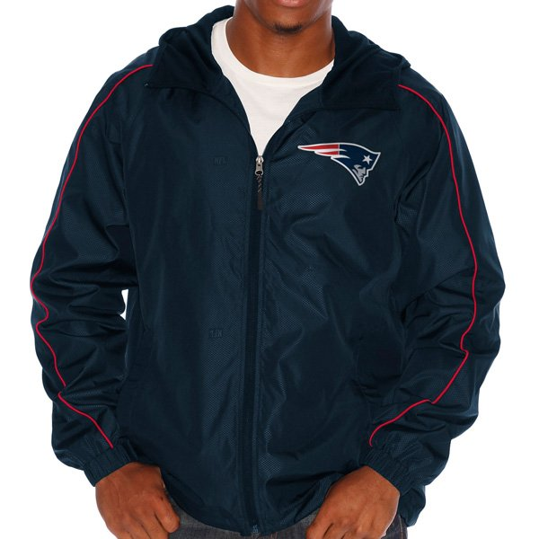 GIII Wishbone Full Zip Jacket-Navy