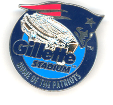 Gillette Stadium Pin