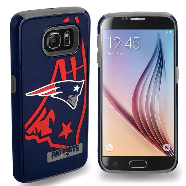 Patriots Galaxy S6 Dual Hybrid Cover