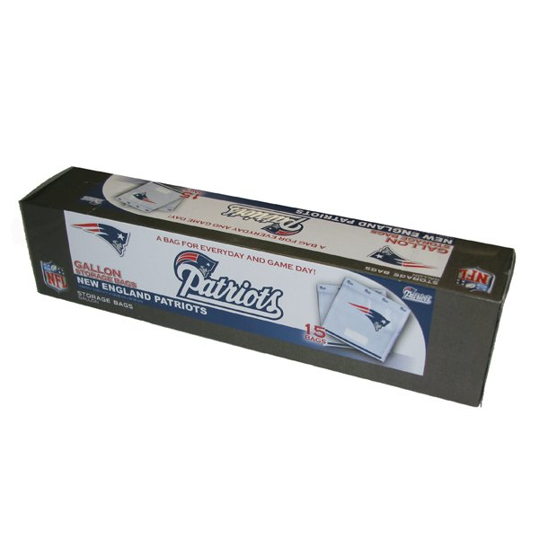 Patriots Gallon Bags - Box of 15