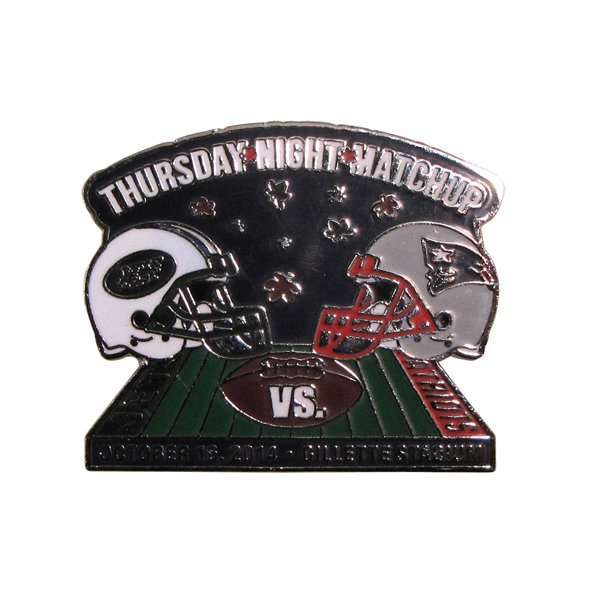 Patriots/Jets Game Day Pin 10/16/14