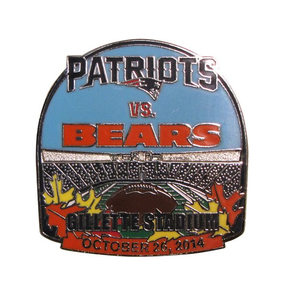 Patriots/Bears Game Day Pin 10/26/14