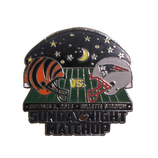 Patriots/Bengals Game Day Pin 10/5/14