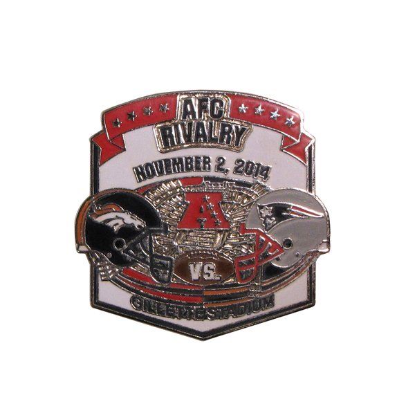 Patriots/Broncos Game Day Pin 11/2/14