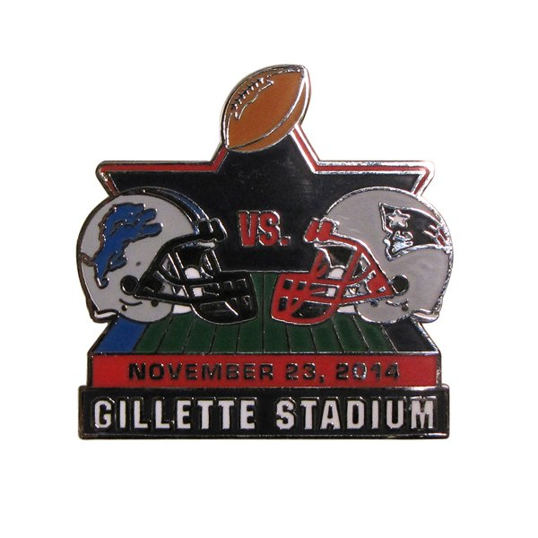Patriots/Lions Game Day Pin 11/23/14