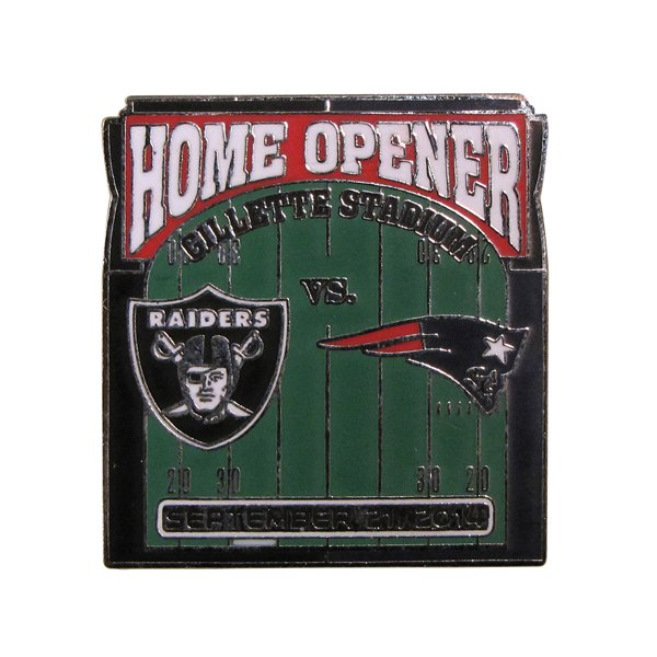 Patriots/Raiders Game Day Pin 9/21/14