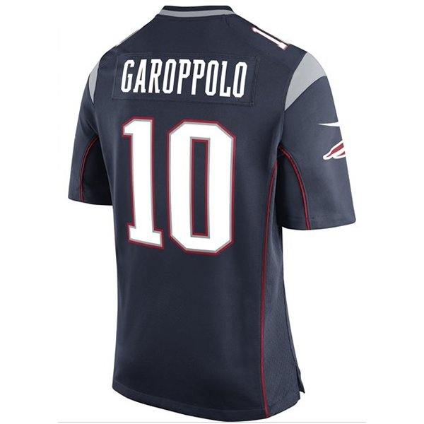 Nike Jimmy Garoppolo #10 Game Jersey-Navy