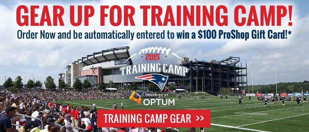 2015 Training Camp 100 Gift Card - Desktop Slide