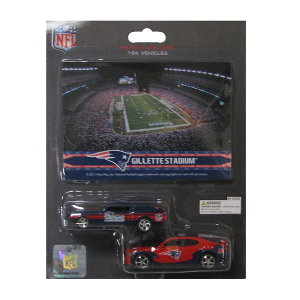 Gillette Stadium Mustang/Charger 2 Pack