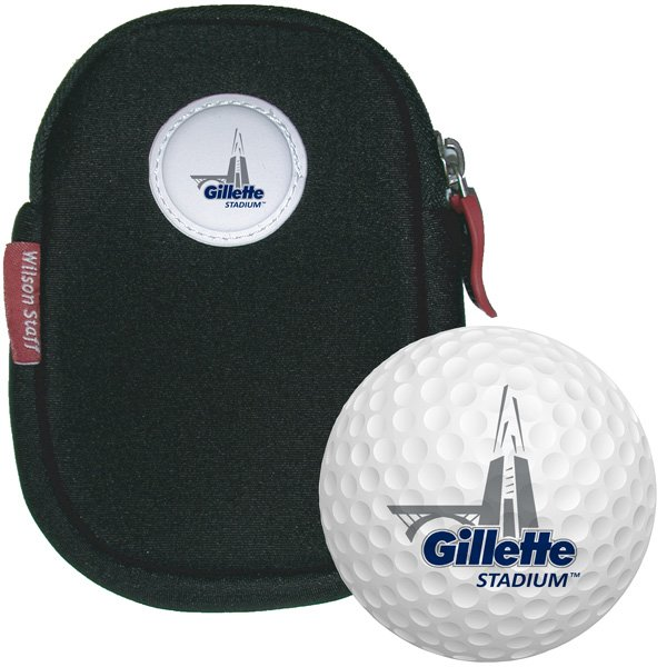 Gillette Stadium Golf Ball Neoprene Pouch-6pk