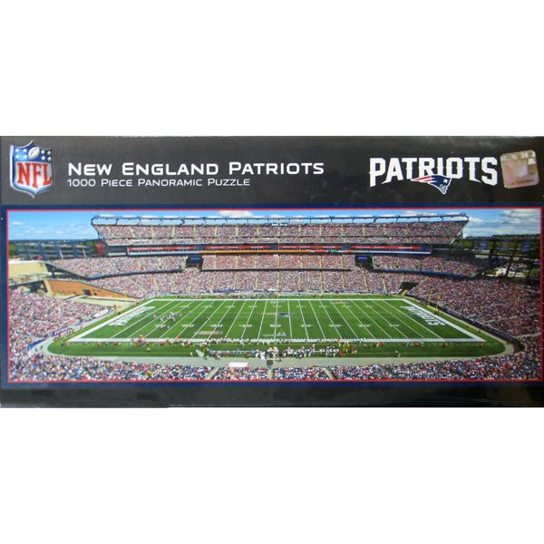 Gillette Stadium Panorama 1000pc Puzzle
