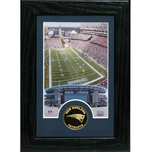 Gillette Stadium 5x7 Framed Coin