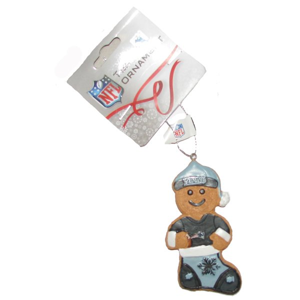 Patriots Gingerbread Man Ornament