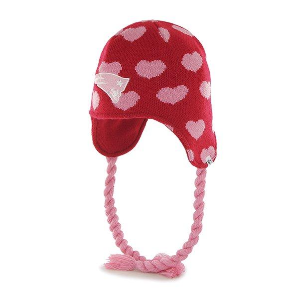 Girls '47 Brand Regina Knit-Red