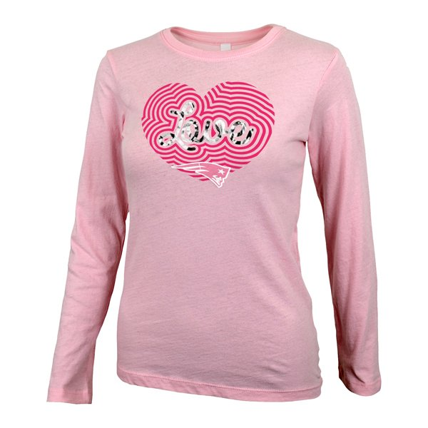 Girls Scout Long Sleeve Tee-Pink