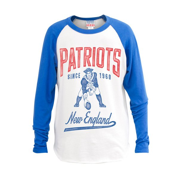 Girls Junk Food Throwback All American Raglan