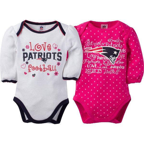 Girls Newborn 2pk Bodysuit-Pink