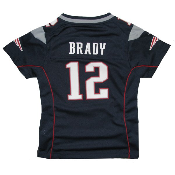 Girls Nike Tom Brady Jersey-Navy