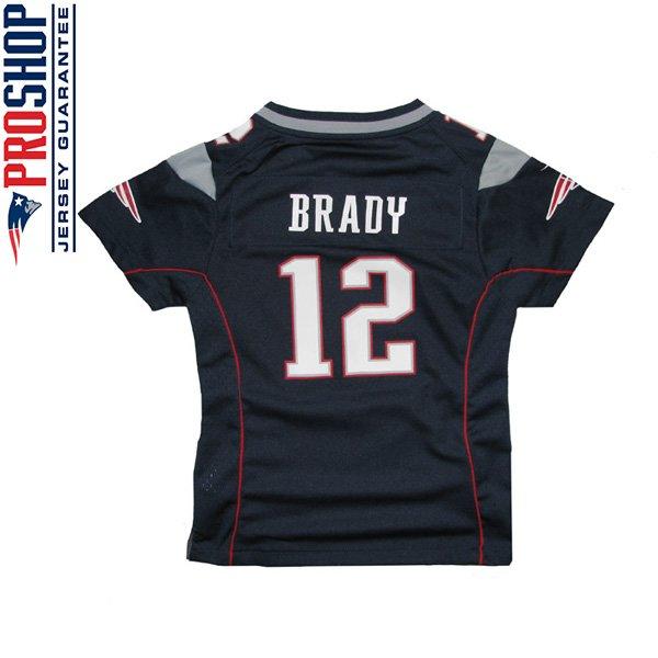 Girls Nike Tom Brady Jersey-Navy