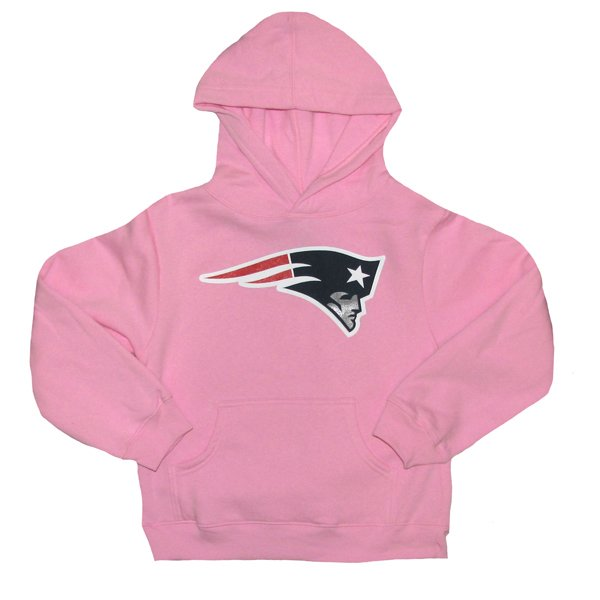Girls Patriots Hood-Pink