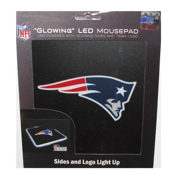 Patriots LED Lighted Mousepad