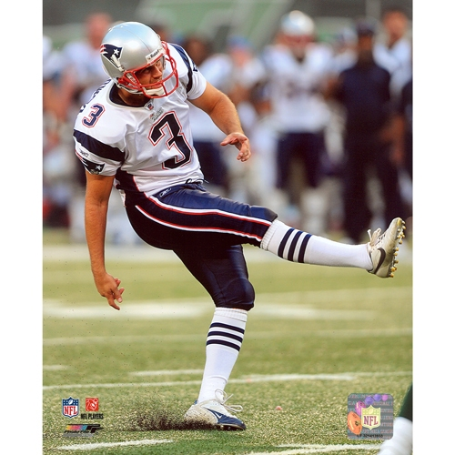 Stephen Gostkowski 8x10 Card Photo