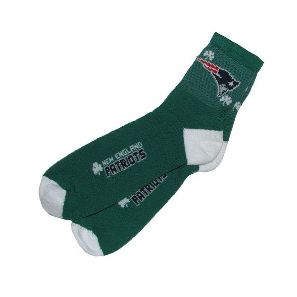 Shamrock Quarter Socks-Green
