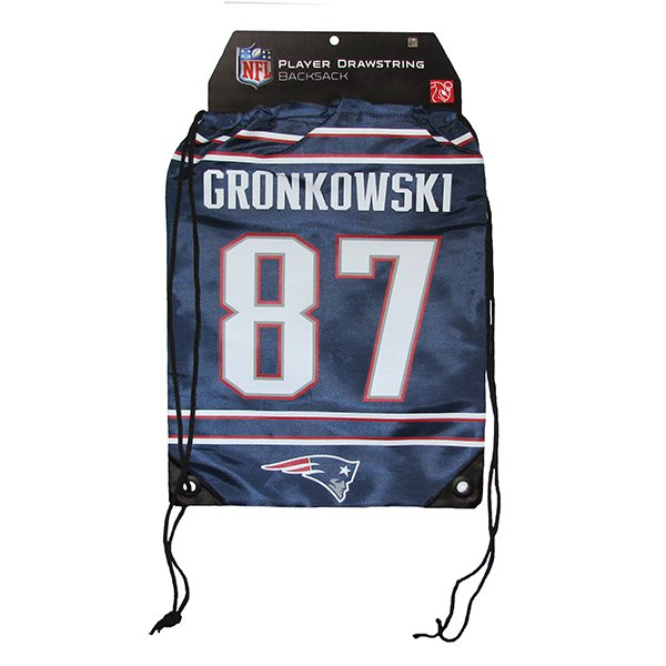 Rob Gronkowski #87 Drawstring Backpack
