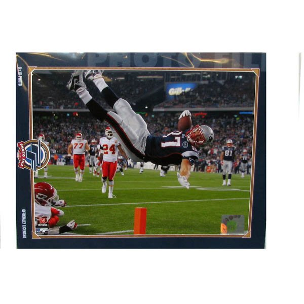 Rob Gronkowski Air 8x10 Photo
